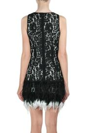 Endless Rose Feather Holiday Dress - Front full body