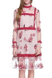 Endless Rose Floral Embroidered Dress - Product Mini Image