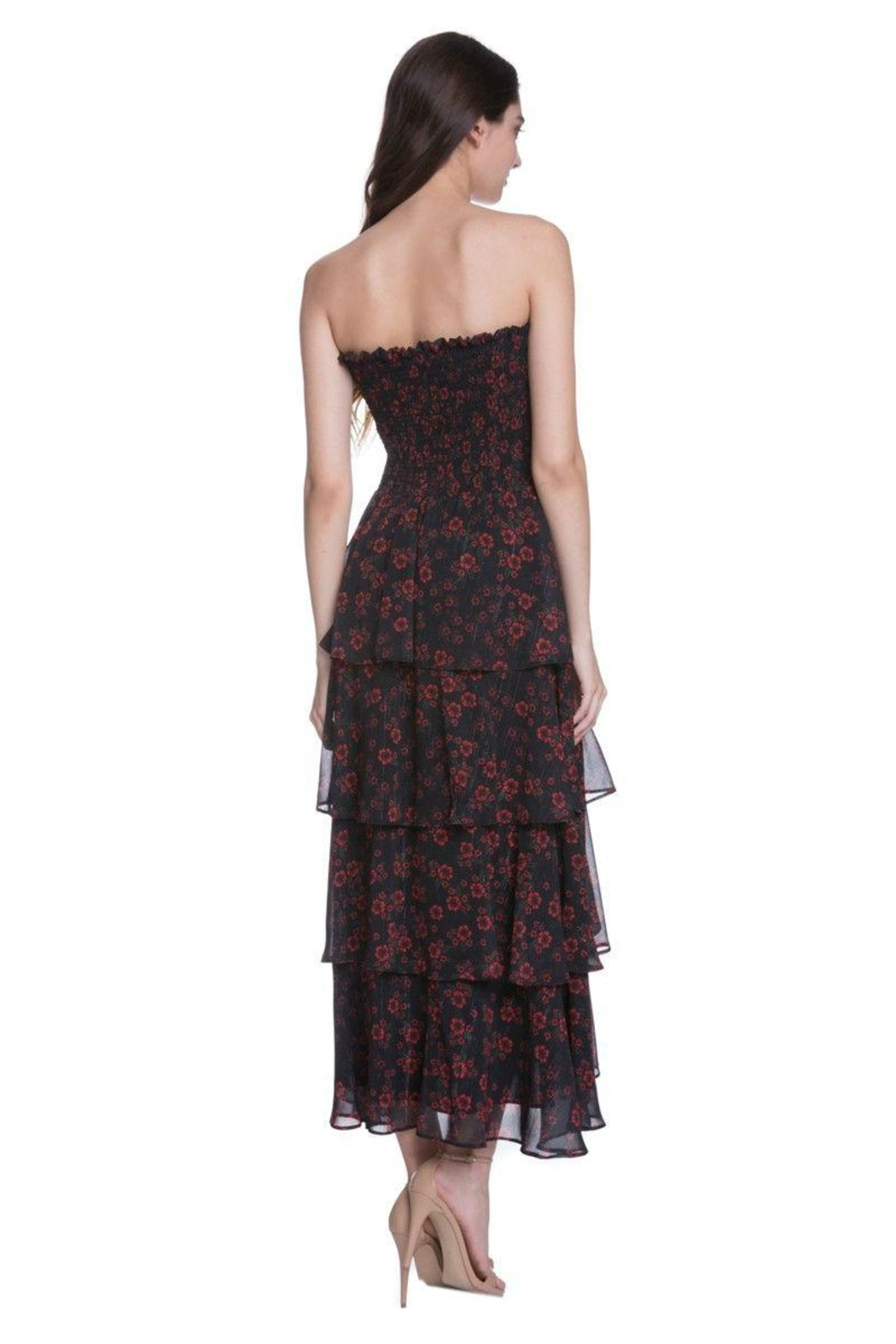 Endless Rose Floral Maxi Dress - Front Full Image