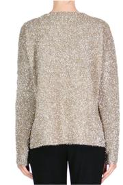 Endless Rose Gold Sparkly Sweater - Front full body
