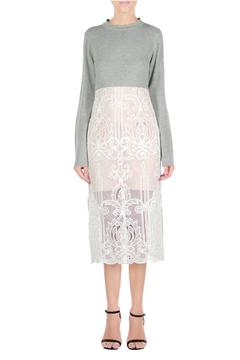 Endless Rose Grey Lace Dress - Product List Image
