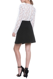 Endless Rose Lace Ruffle Top - Front full body
