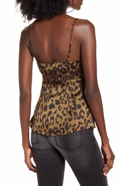 Endless Rose Leopard Twist-Front Top - Side cropped
