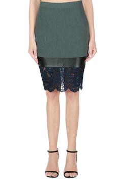 Endless Rose Mixed Media Skirt - Product List Image