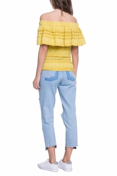 Endless Rose Off The Shoulder Yellow Top - Alternate List Image