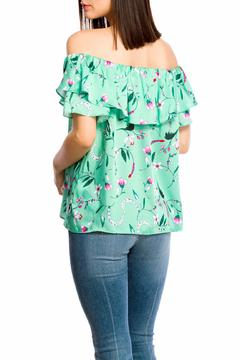 Shoptiques Product: Open Shoulder Top