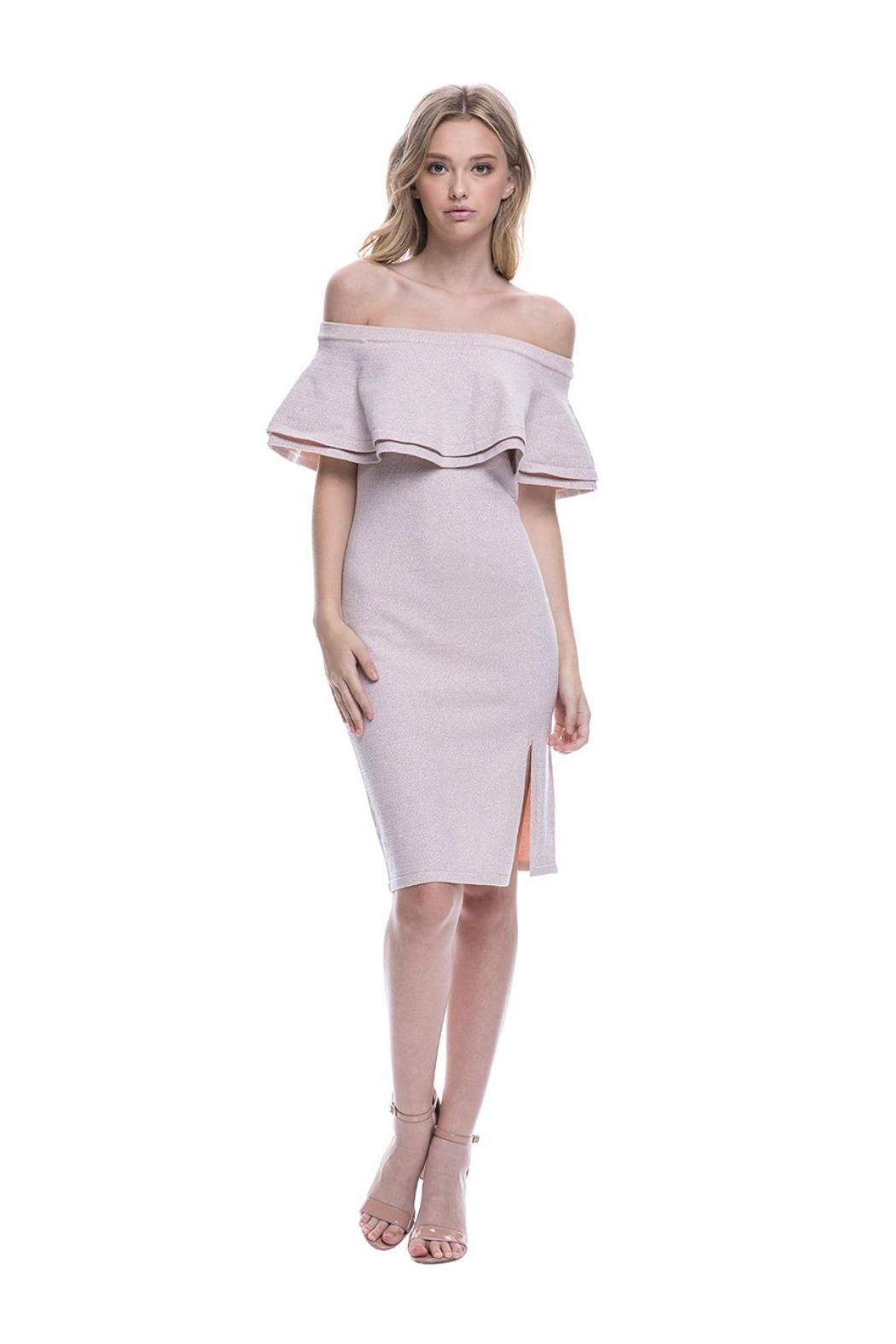 Endless Rose Ots Cocktail Dress - Main Image