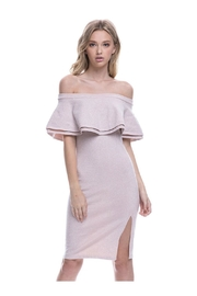 Endless Rose Ots Cocktail Dress - Back cropped