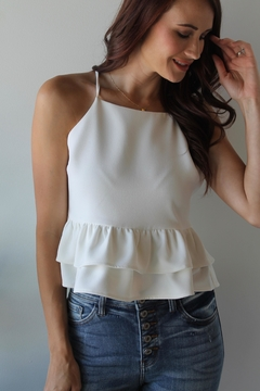 Endless Rose Pleasant Peplum Top - Product List Image