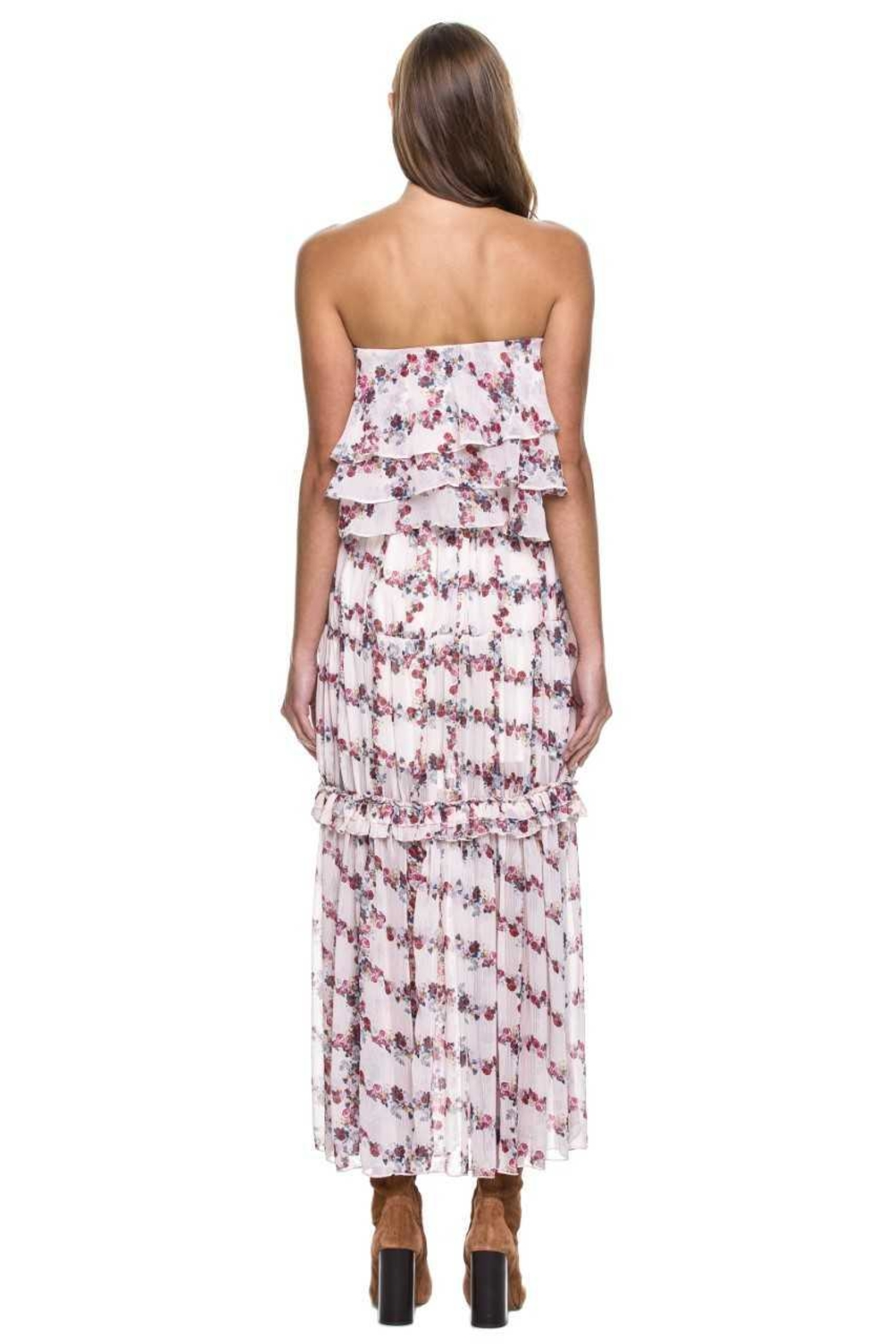 Endless Rose Ruffle Maxi Skirt - Side Cropped Image