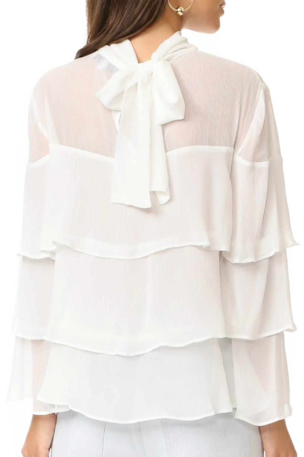 Endless Rose Ruffle Tiered Top - Front Full Image