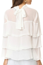 Endless Rose Ruffle Tiered Top - Front full body