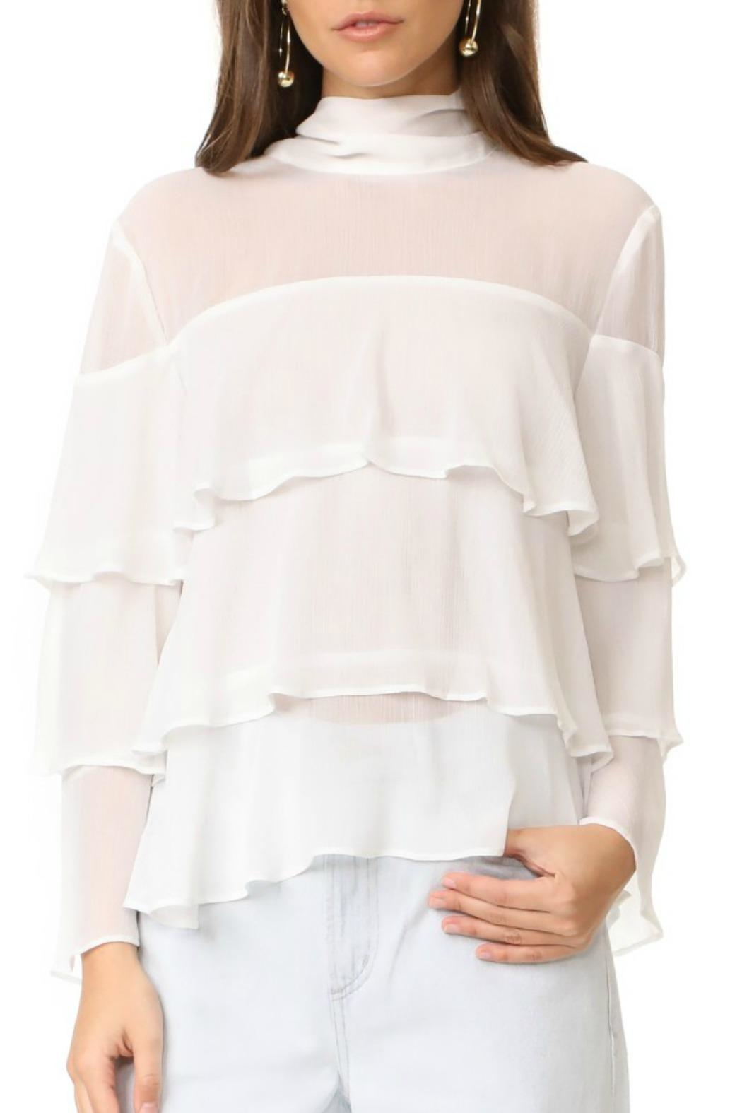 Endless Rose Ruffle Tiered Top - Main Image