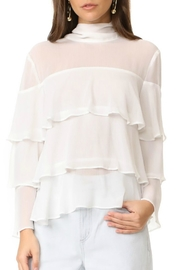 Endless Rose Ruffle Tiered Top - Front cropped
