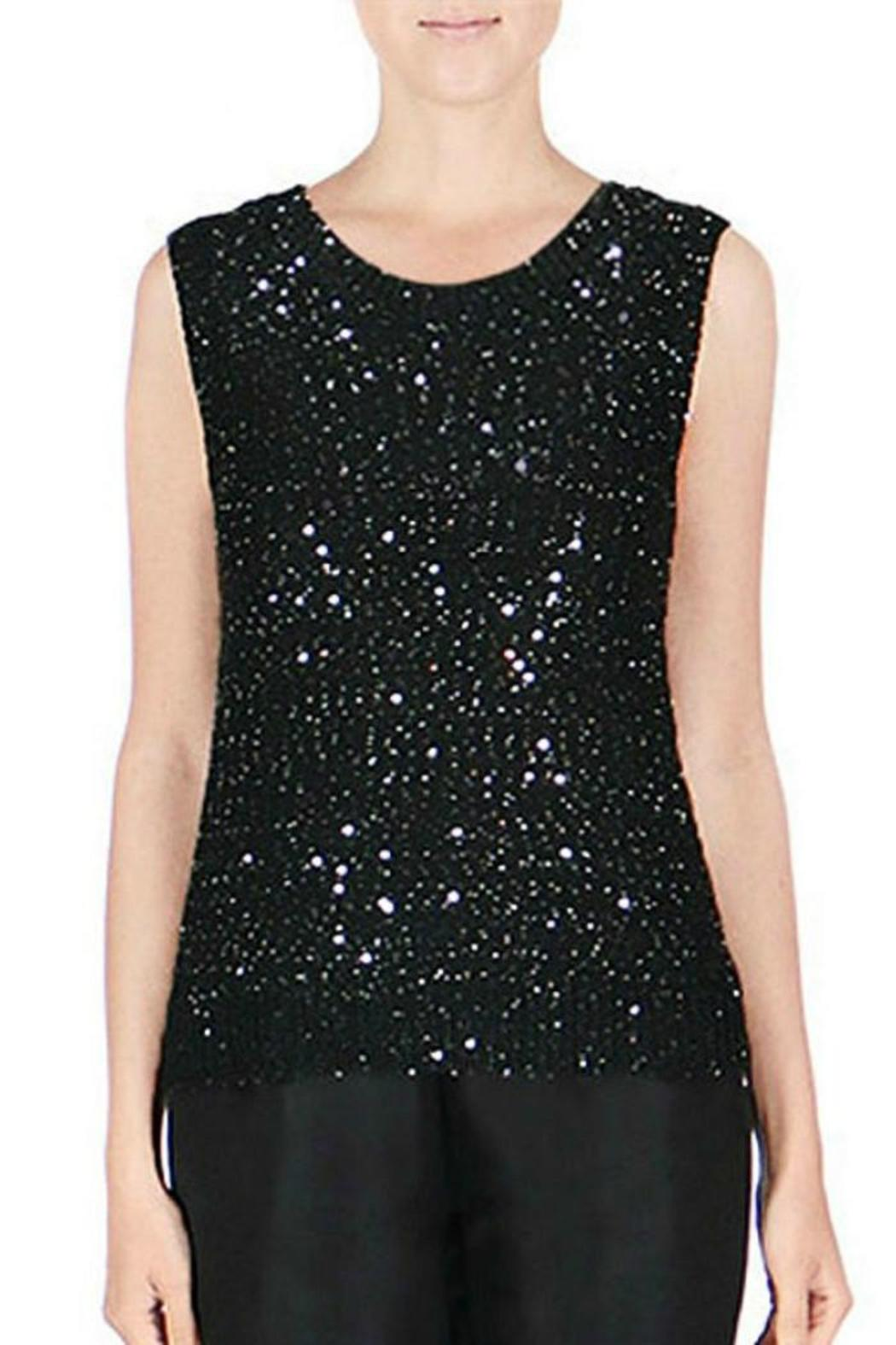 Endless Rose Sleeveless Sequin Tank - Main Image