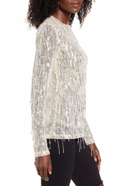 Endless Rose Stella Sequin-Fringe Top - Side cropped