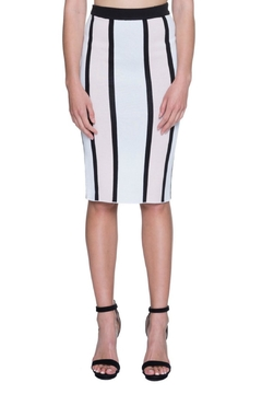 Shoptiques Product: Striped Knit Skirt