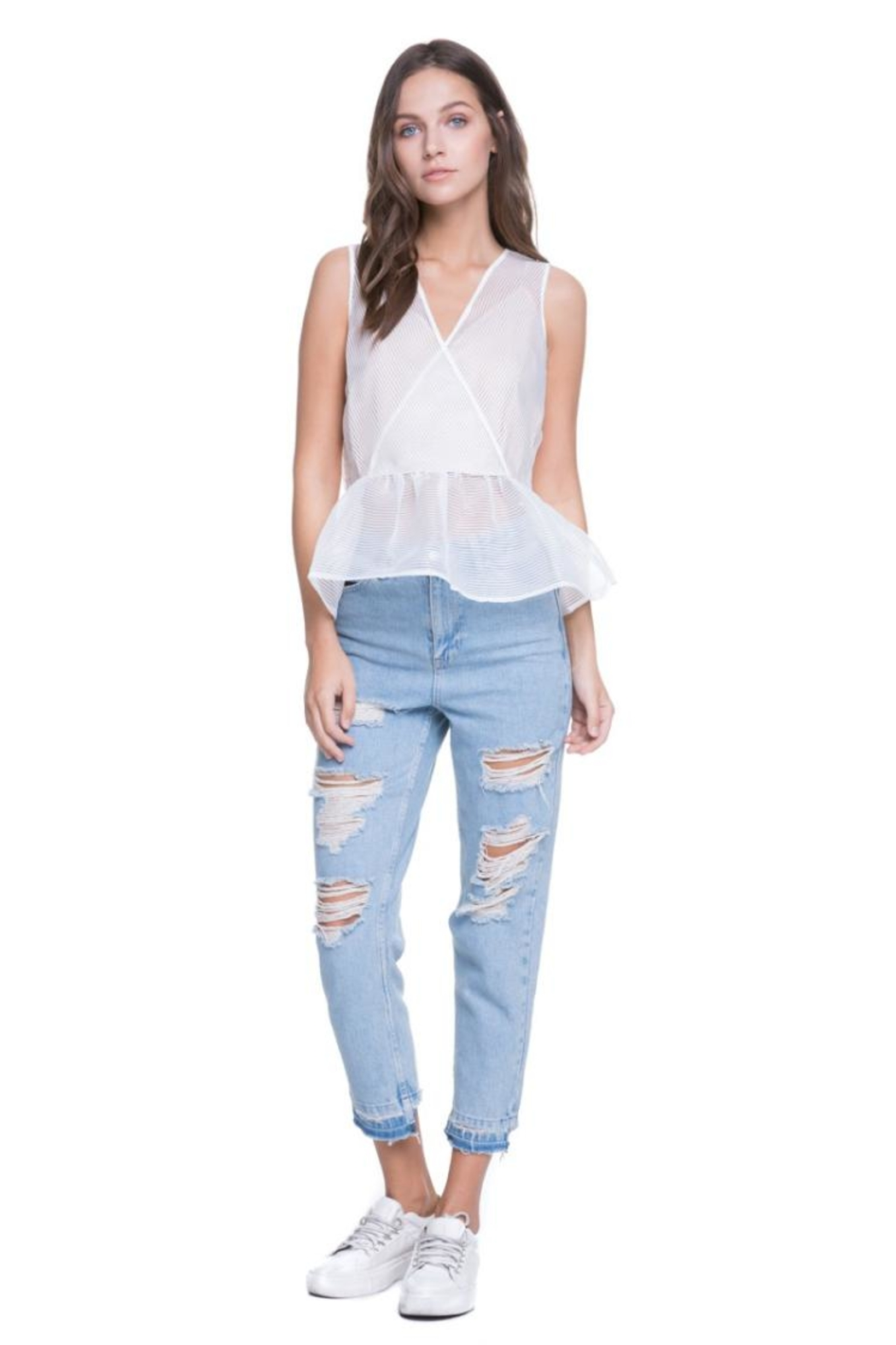 f846a166862 Endless Rose Striped Top from Los Angeles by Chikas — Shoptiques