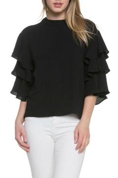 Shoptiques Product: Tiered Ruffle Top