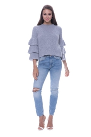 Endless Rose Tiered Sleeve Sweater - Product Mini Image
