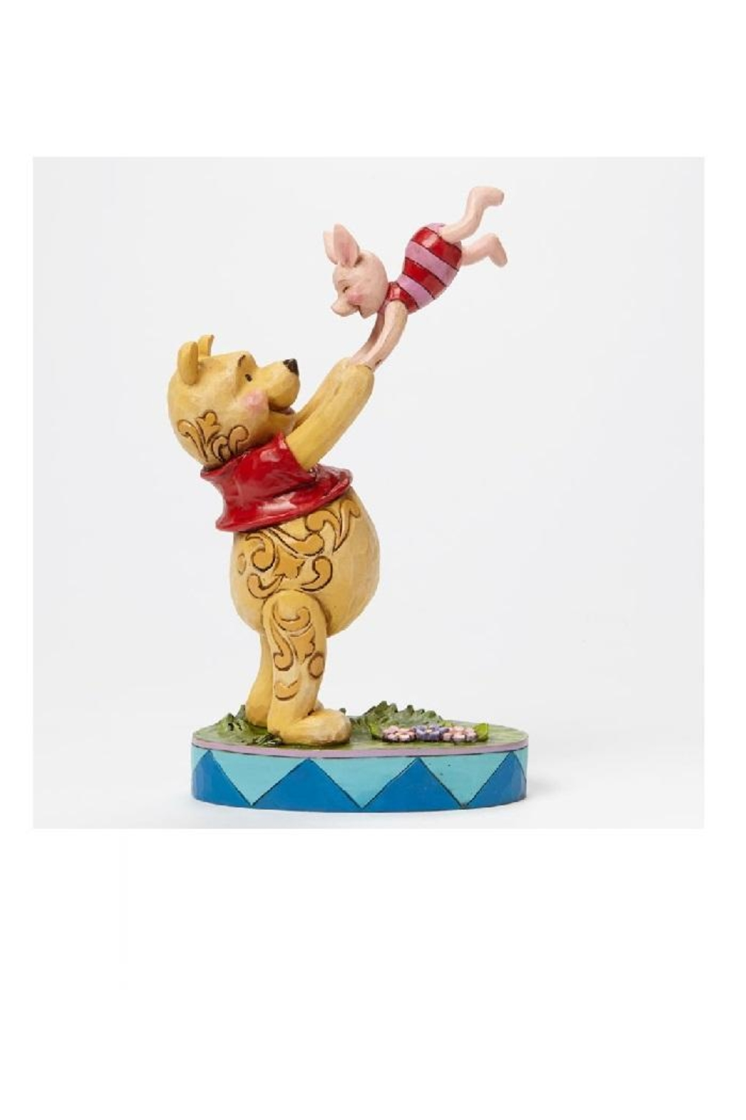 enesco Pooh & Piglet Shore - Front Cropped Image