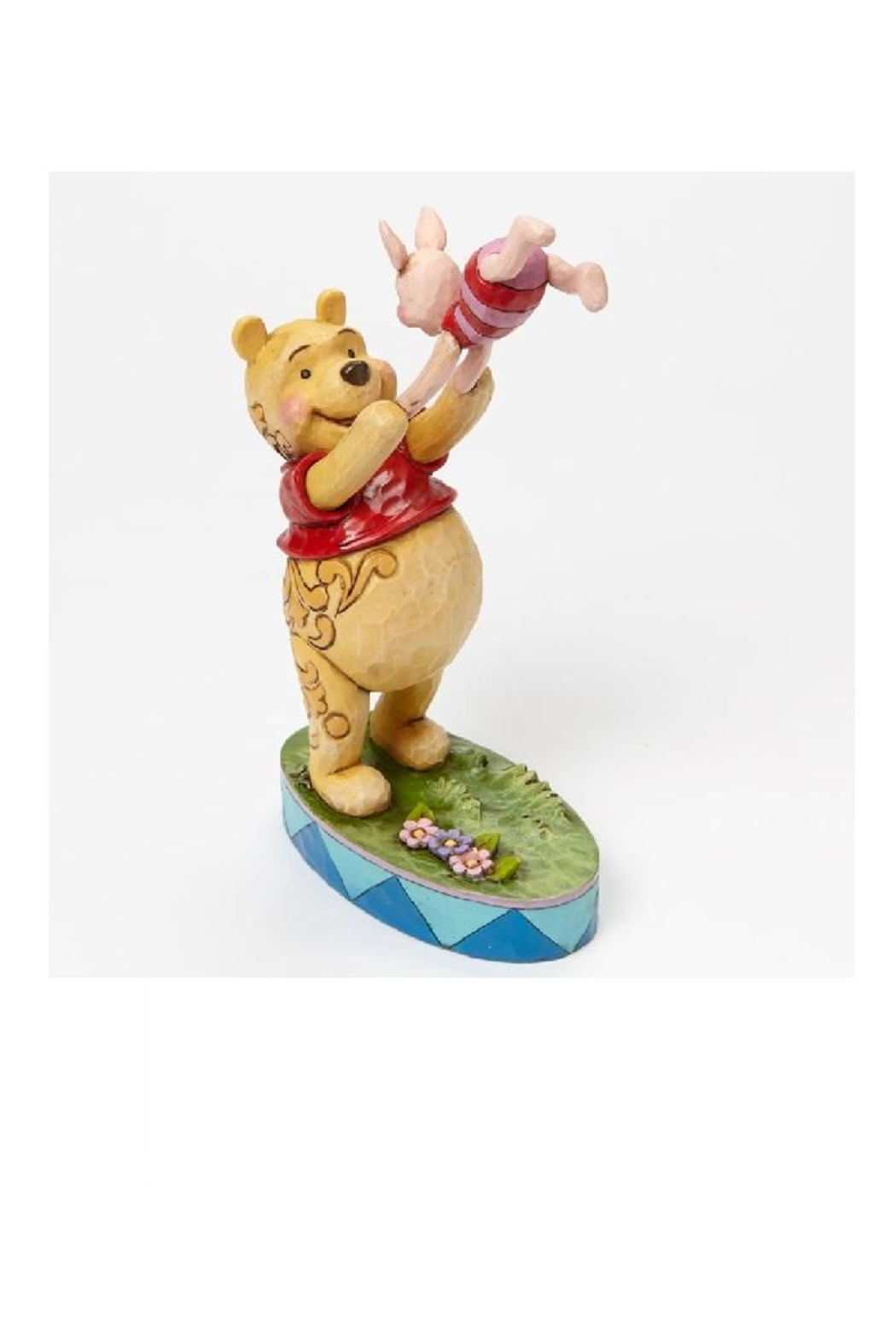 enesco Pooh & Piglet Shore - Side Cropped Image