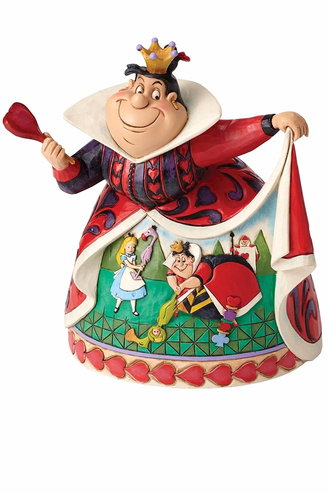 enesco Queen Of Hearts Decoration - Front Cropped Image