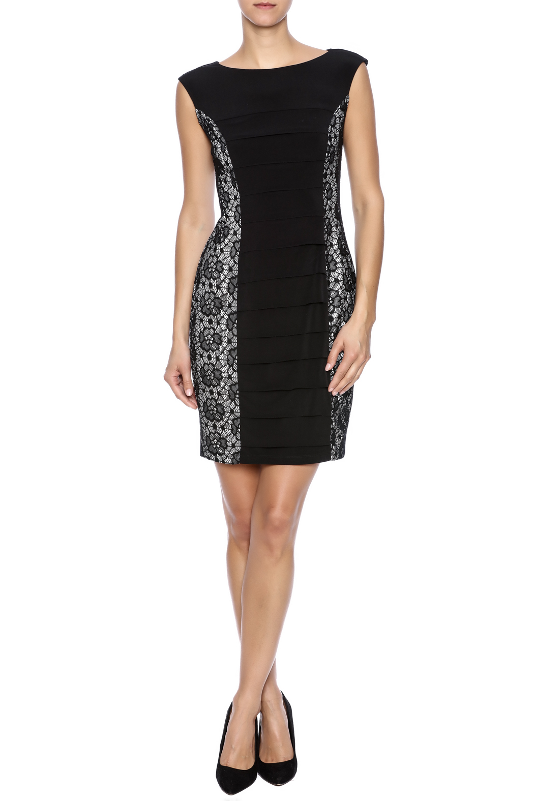 Enfocus Studio Bodycon Dress - Front Full Image