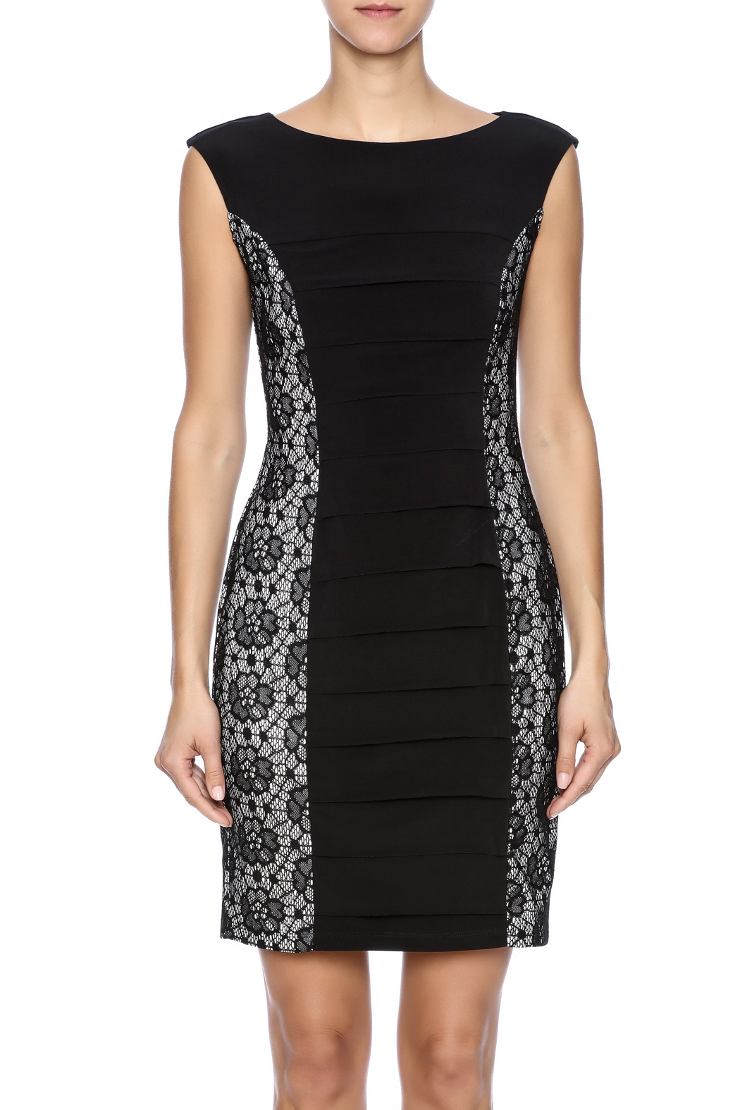 Enfocus Studio Bodycon Dress - Side Cropped Image