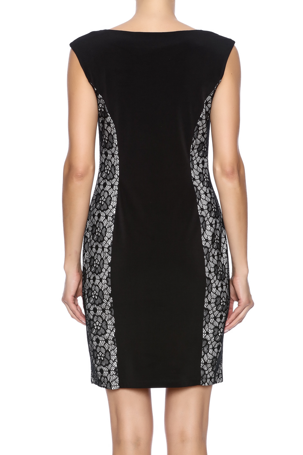 Enfocus Studio Bodycon Dress - Back Cropped Image