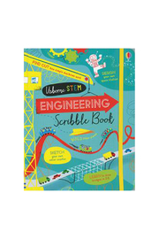 Usborne Engineering Scribble Book - Product Mini Image