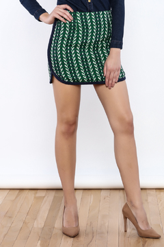 Shoptiques Product: Abstract Mini Skirt