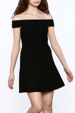 Shoptiques Product: Classic Off-Shoulder Dress