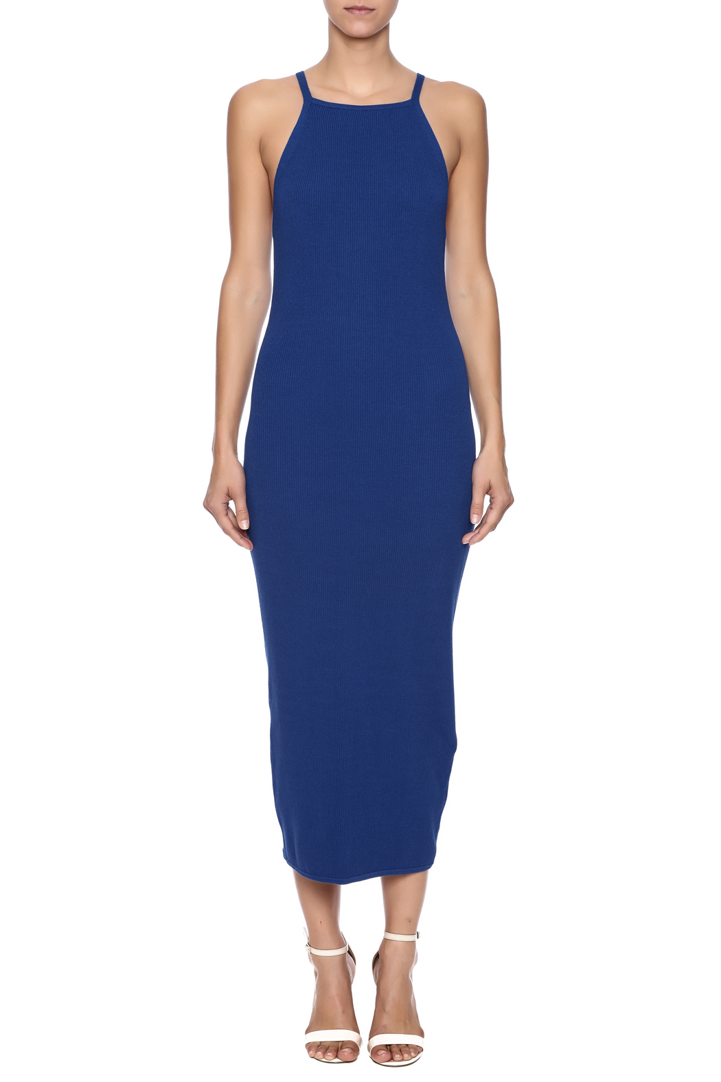 English Factory Coblue Factory Dress - Front Cropped Image