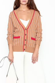 English Factory Merci Beaucoup Cardigan - Front cropped
