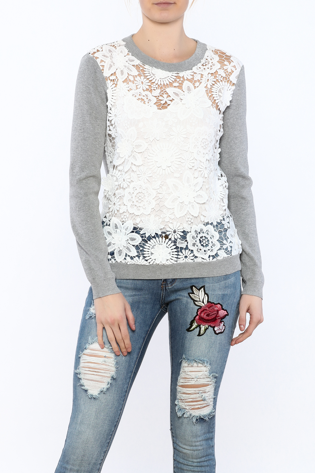 English Factory See-Through Pullover - Main Image