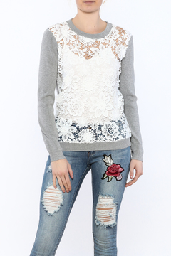 Shoptiques Product: See-Through Pullover