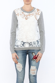 English Factory See-Through Pullover - Side cropped