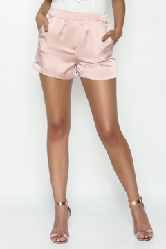 Shoptiques Product: Satin Blush Shorts