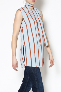 English Factory Stripe Tunic Top - Product List Image