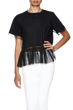 Shoptiques Product: Tulle Peplum Top