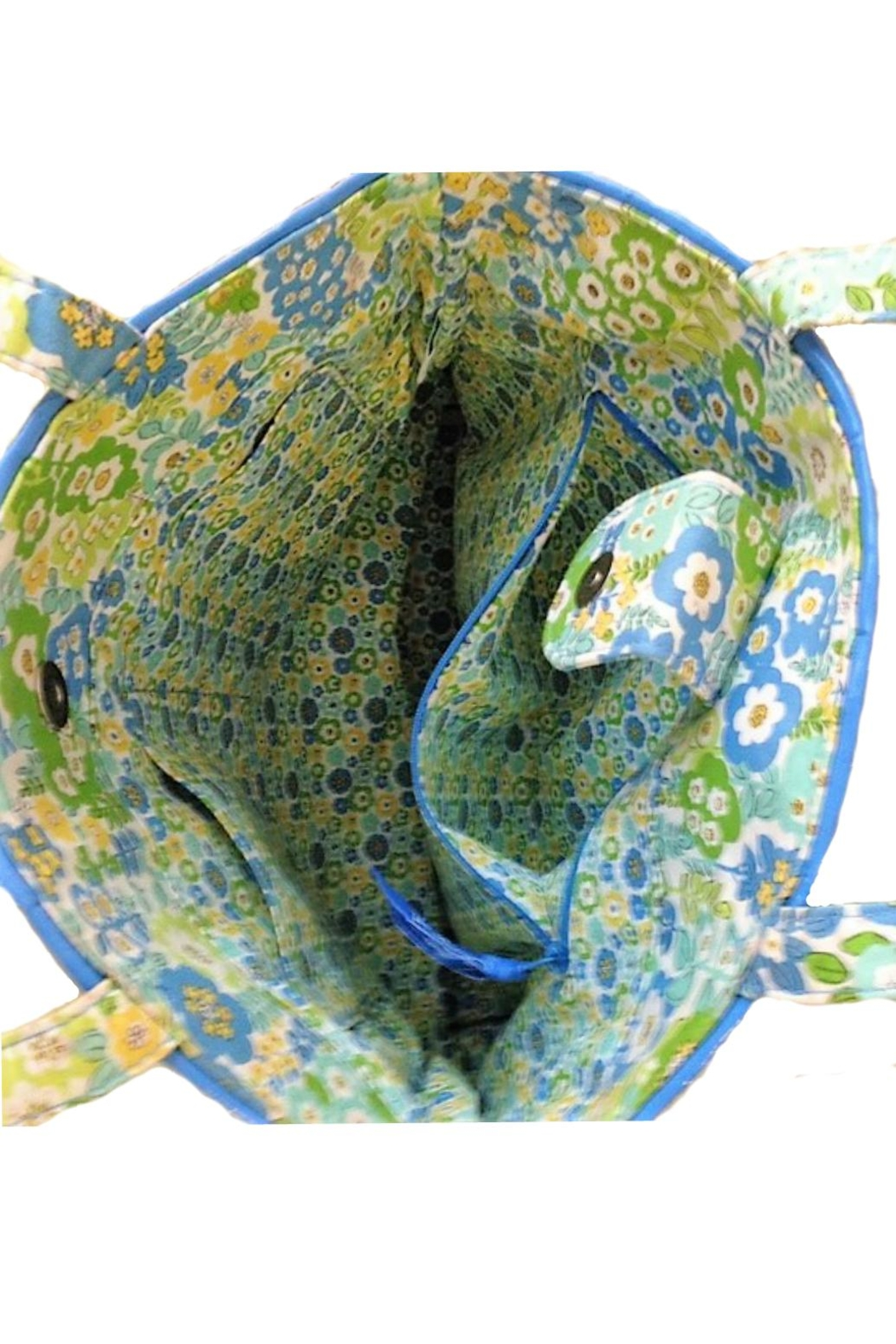 Vera Bradley English Meadow Tote - Side Cropped Image