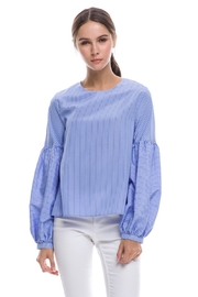 English Factory Balloon Sleeve Top - Front cropped