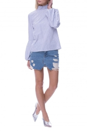 English Factory Balloon Sleeve Top - Front full body
