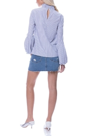 English Factory Balloon Sleeve Top - Back cropped