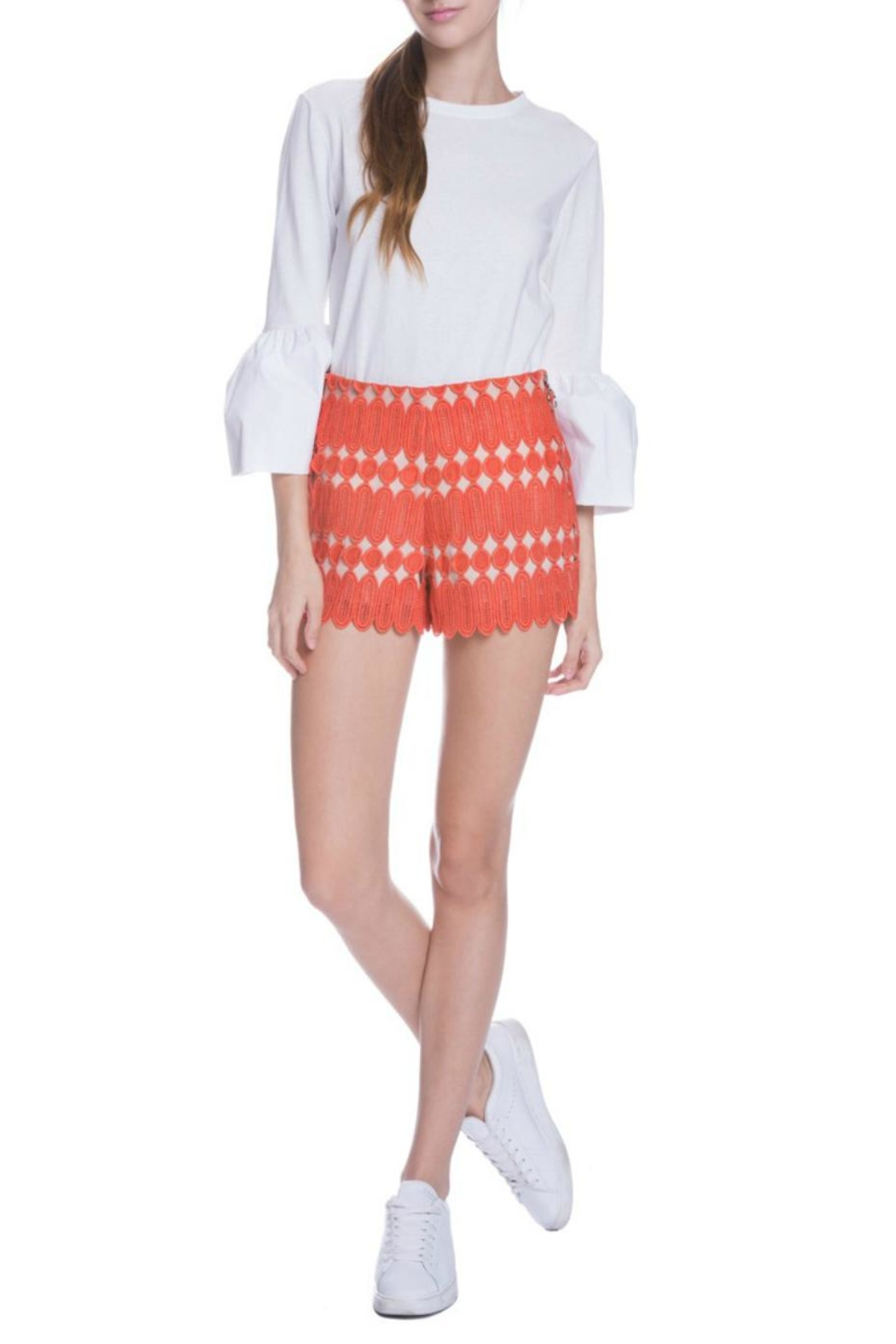 English Factory Bell Sleeve Top - Main Image