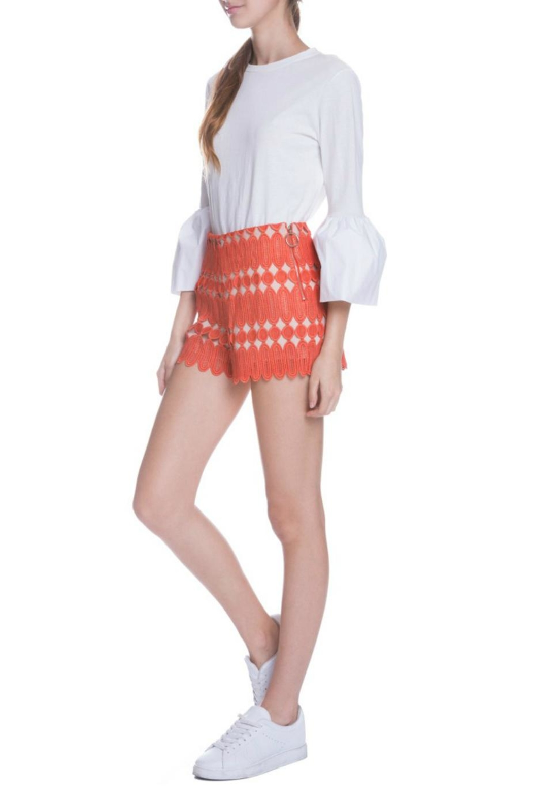 English Factory Bell Sleeve Top - Side Cropped Image