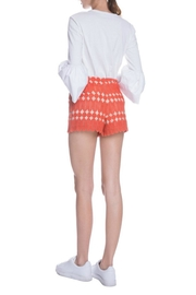 English Factory Bell Sleeve Top - Front full body