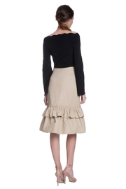 English Factory Camel Ruffle Skirt - Other