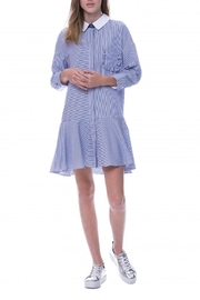 English Factory Drop Waist Dress - Front full body